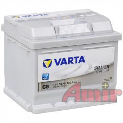 Akumulator Varta Silver - 12V 52Ah 520A C6