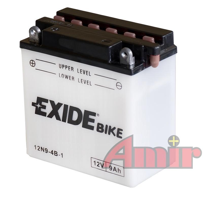 Akumulator Exide Bike 12N9-4B-1 - 12V 9Ah 85A
