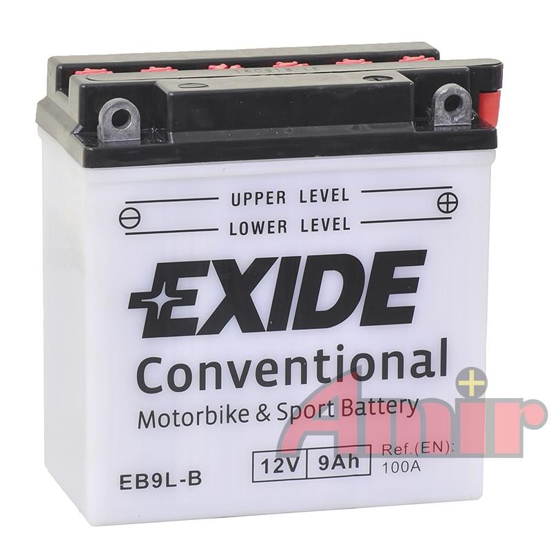 Akumulator Exide Bike EB9L-B - 12V 9Ah 100A