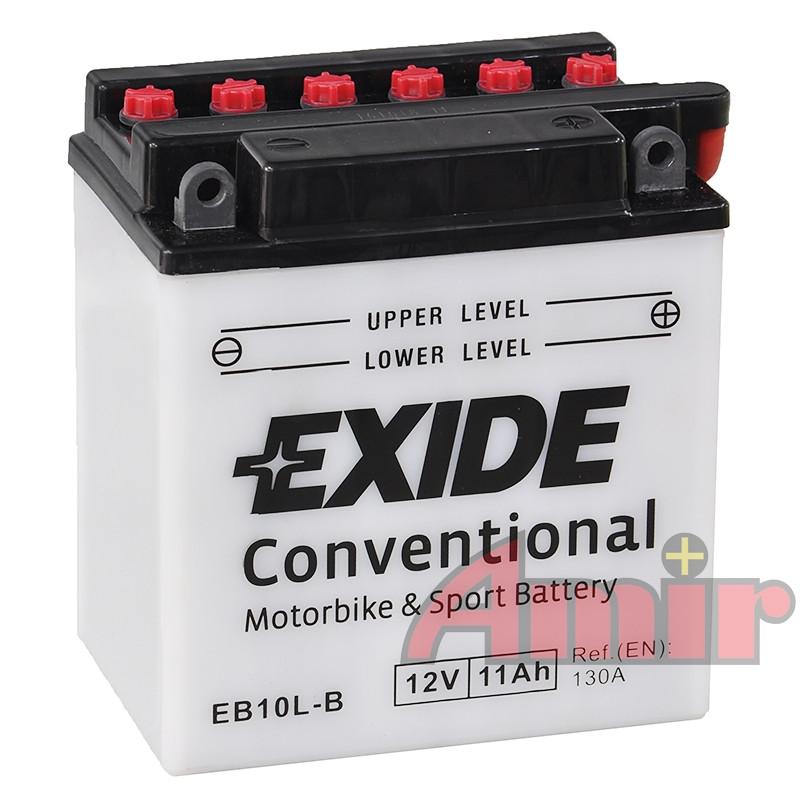 Akumulator Exide Bike EB10L-B - 12V 11Ah 130A