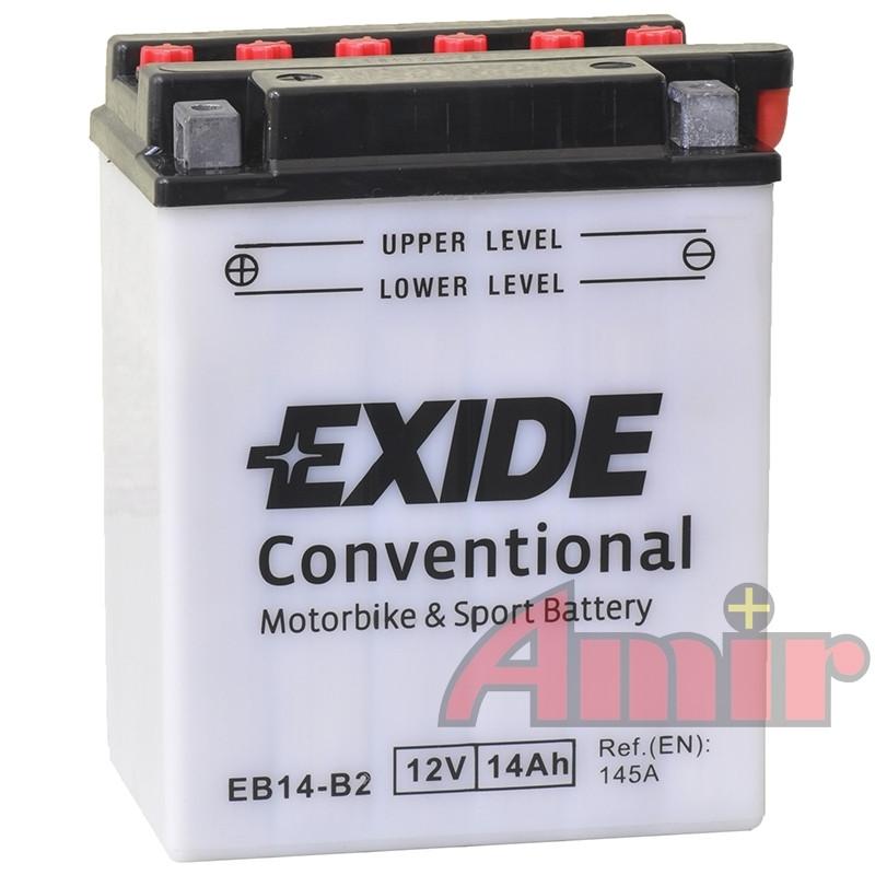 Akumulator Exide Bike EB14-B2 - 12V 14Ah 145A