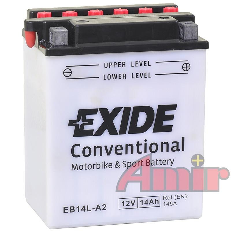 Akumulator Exide Bike EB14L-A2 - 12V 14Ah 145A
