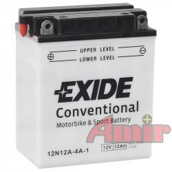 Akumulator Exide Bike 12N12A-4A-1 - 12V 12Ah 115A