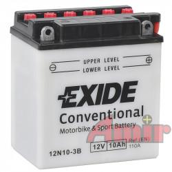 Akumulator Exide Bike 12N10-3B - 12V 10Ah 110A