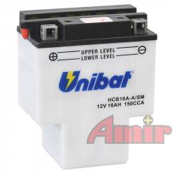 Akumulator Unibat HCB16A-A - 12V 16Ah 150A