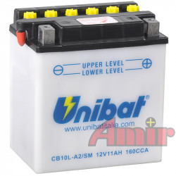 Akumulator Unibat CB10L-A2 - 12V 11Ah 160A