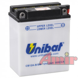 Akumulator Unibat CB12A-B -...