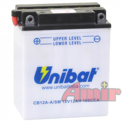 Akumulator Unibat CB12A-A -...