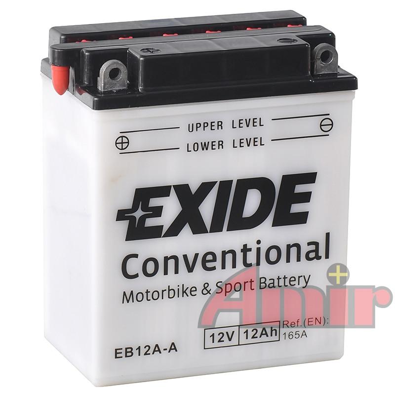 Akumulator Exide Bike EB12A-A - 12V 12Ah 165A YB12A-A