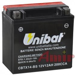 Akumulator Unibat CBTX14-BS...