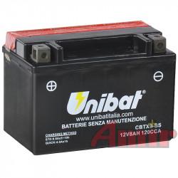 Akumulator Unibat CBTX9-BS - 12V 8Ah 120A