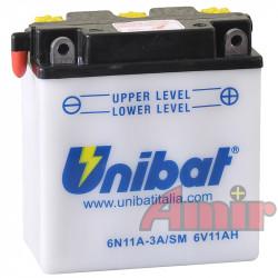 Akumulator Unibat 6N11A-3A...