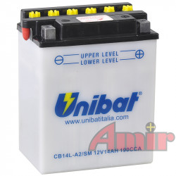Akumulator Unibat CB14L-A2 - 12V 14Ah 190A