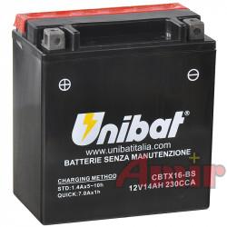 Akumulator Unibat CBTX16-BS...