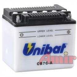 Akumulator Unibat CB7C-A - 12V 8Ah 124A