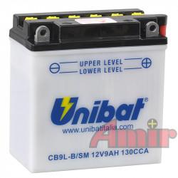 Akumulator Unibat CB9L-B -...