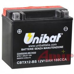 Akumulator Unibat CBTX12-BS - 12V 10Ah 180A