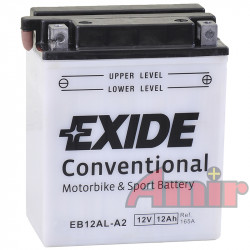 Akumulator Exide Bike EB12AL-A2 - 12V 12Ah 165A