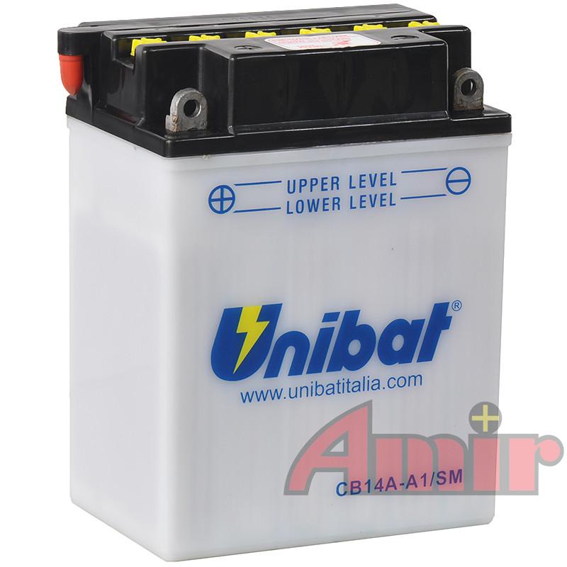 Akumulator Unibat CB14A-A1 - 12V 14Ah 190A