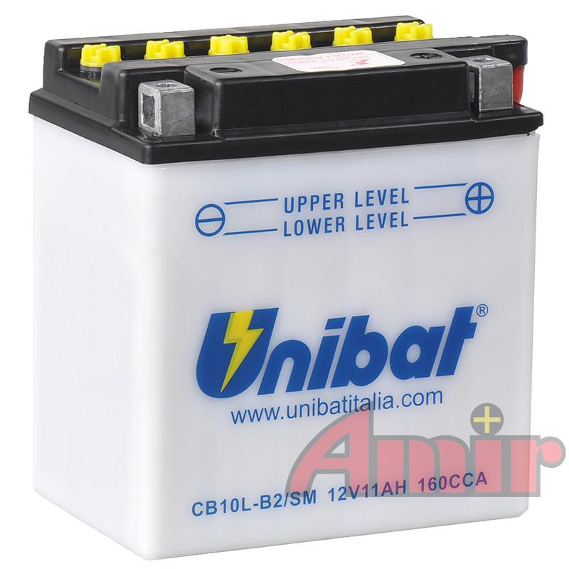 Akumulator Unibat CB10L-B2 - 12V 11Ah 160A
