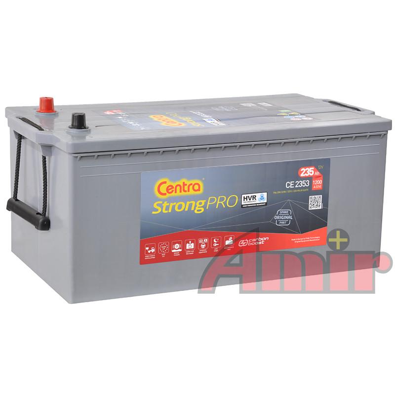 Akumulator Centra Strong PRO - 12V 235Ah 1200A CE 2353