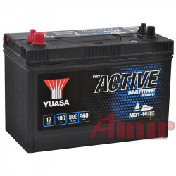 Akumulator Yuasa Active Marine - 12V 100Ah 800A M31-100S