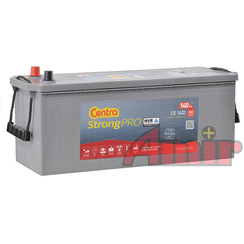 Akumulator Centra Strong PRO - 12V 140Ah 800A CE1403