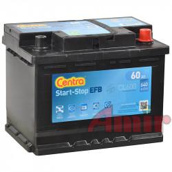 Akumulator Centra Start-Stop EFB - 12V 60Ah 640A CL600