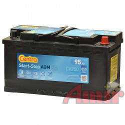 Akumulator Centra Start-Stop AGM - 12V 95Ah 850A CK950