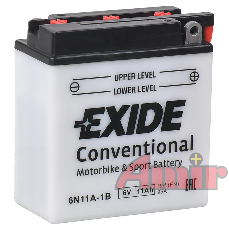 Akumulator Exide Bike 6N11A-1B - 6V 11Ah 95A