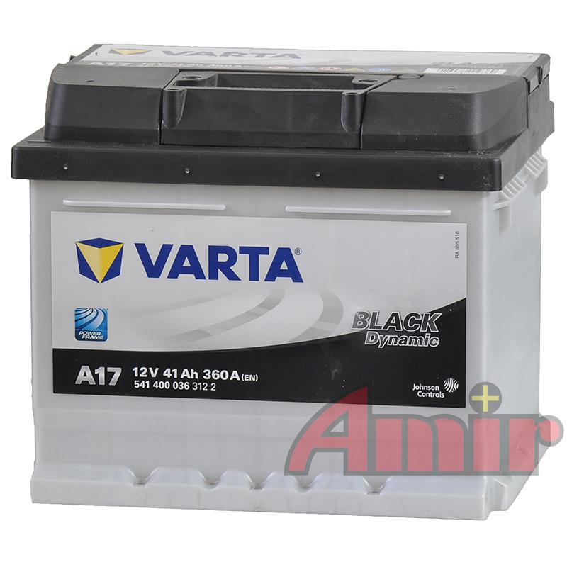Akumulator Varta Black - 12V 41Ah 360A A17