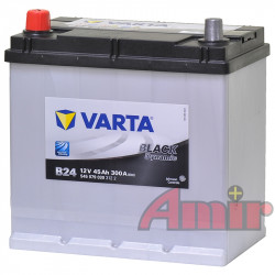 Akumulator Varta Black - 12V 45Ah 300A B24 JAPAN