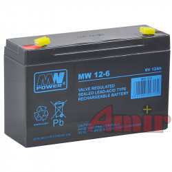Akumulator MW Power - 6V...