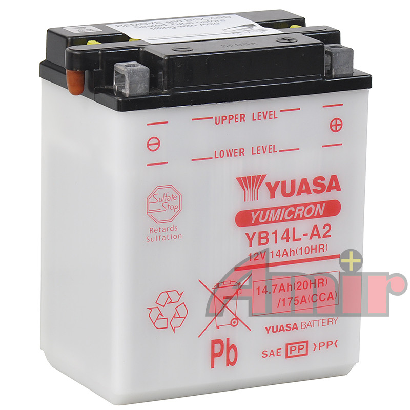 Akumulator Yuasa YB14L-A2 - 12V 14Ah 175A