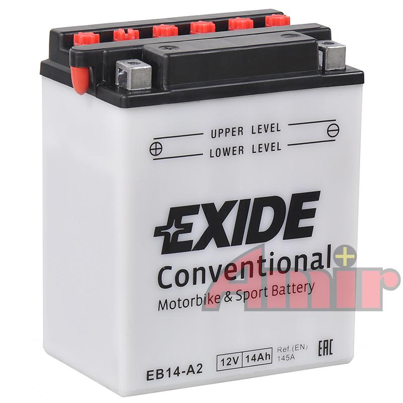 Akumulator Exide Bike EB14-A2 - 12V 14Ah 145A