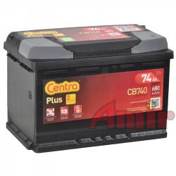Akumulator Centra Plus - 12V 74Ah 680A CB740