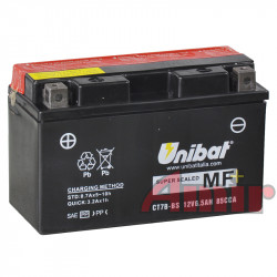 Akumulator Unibat CT7B-BS -...