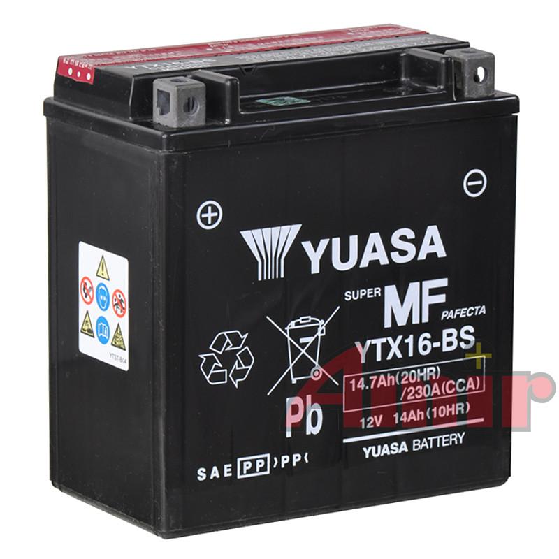 Akumulator Yuasa YTX16-BS - 12V 14Ah 230A