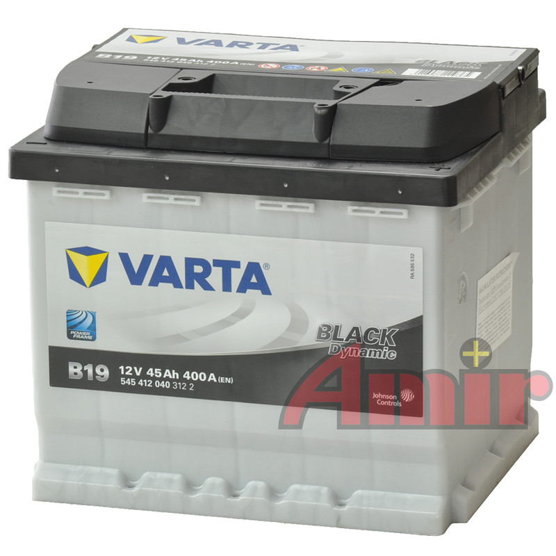 Akumulator Varta Black - 12V 45Ah 400A B19