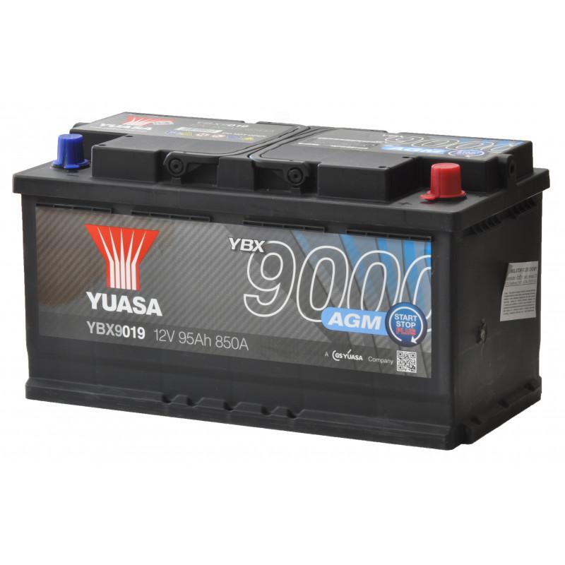Akumulator Yuasa Start-Stop AGM - 12V 95Ah 850A YBX9019