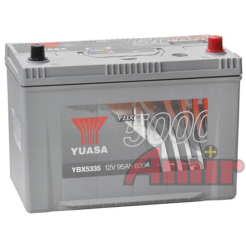 Akumulator Yuasa Silver - 12V 95Ah 830A YBX5335