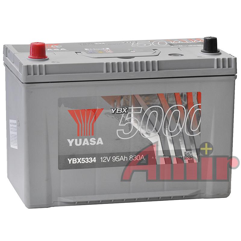Akumulator Yuasa Silver - 12V 95Ah 830A YBX5334