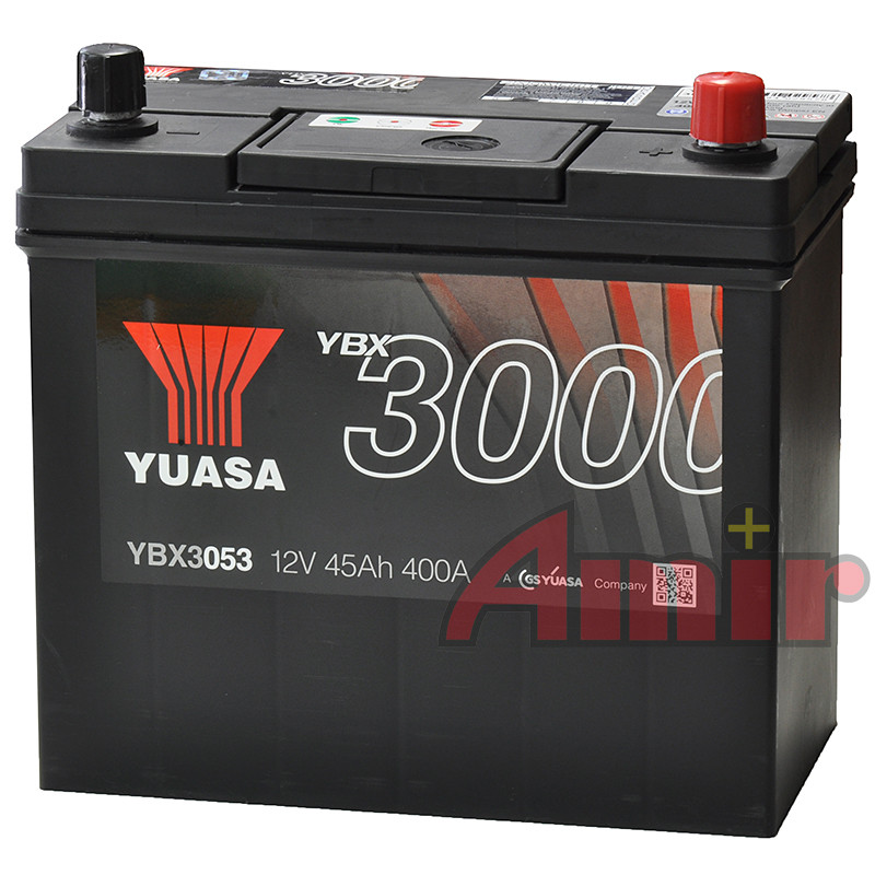 Akumulator Yuasa SMF - 12V 45Ah 400A YBX3053
