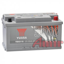 Akumulator Yuasa Silver - 12V 85Ah 800A YBX5110