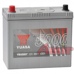 Akumulator Yuasa Silver - 12V 48Ah 430A YBX5057 Japan L+