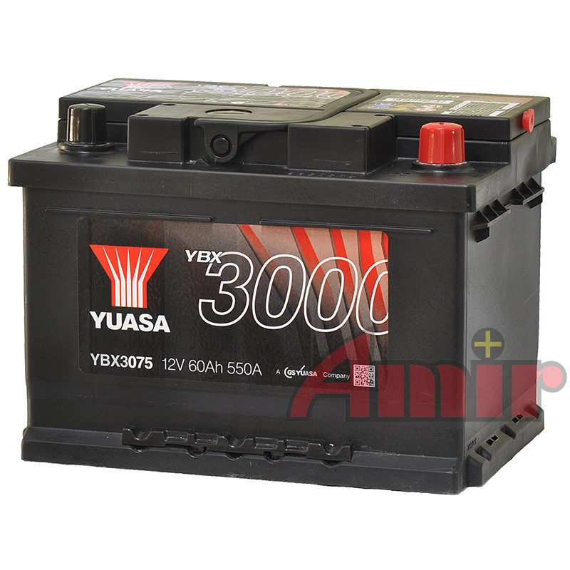 Akumulator Yuasa SMF - 12V 60Ah 550A YBX3075