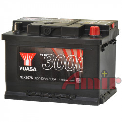 Akumulator Yuasa SMF - 12V 45Ah 420A YBX3063