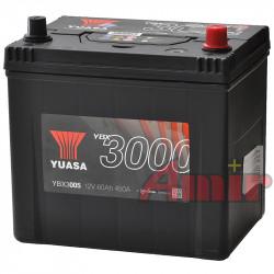 Akumulator Yuasa SMF - 12V 60Ah 450A YBX3005 JAPAN P+