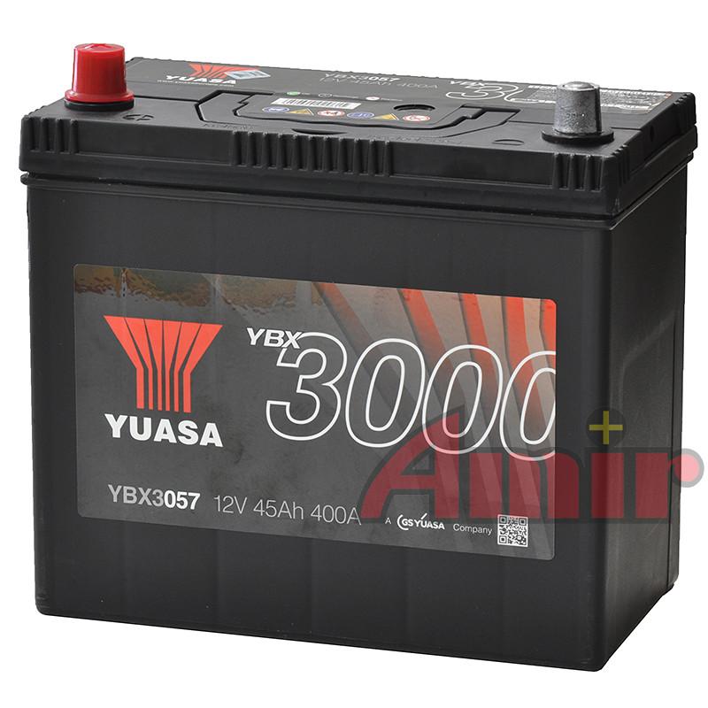 Akumulator Yuasa SMF - 12V 45Ah 400A YBX3057 JAPAN L+