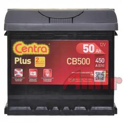 Akumulator Centra Plus - 12V 50Ah 450A CB500